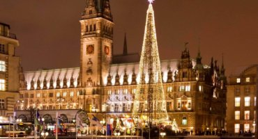 Christmas Celebration in Hamburg