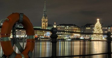 Hamburg´s Old Town and Dinner