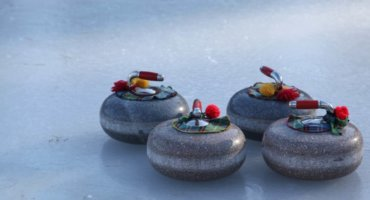 "Curling at ""Planten un Blomen"""