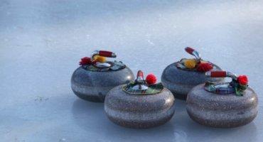 """Curling at """"Planten un Blomen"""""""