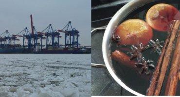 Punschfahrt im Hamburger Hafen
