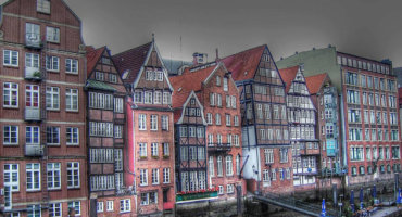 Hamburg's historic City Walk