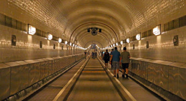 The Old Hamburg Elbe Tunnel